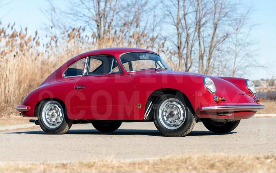 1960 Porsche 356 B 1600 GS/GT Carrera Coupe