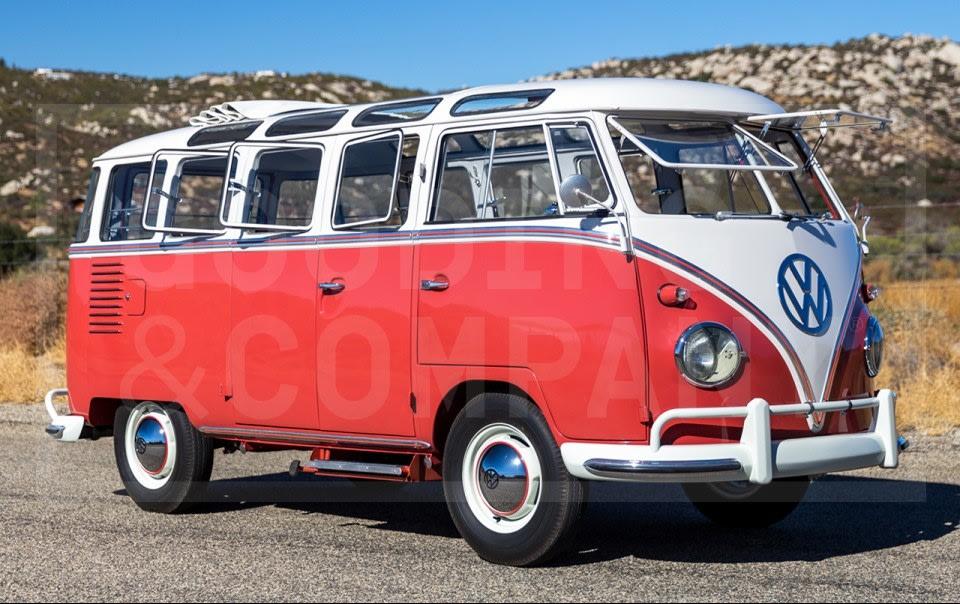 1960 Volkswagen Type 2 23-Window Deluxe Microbus