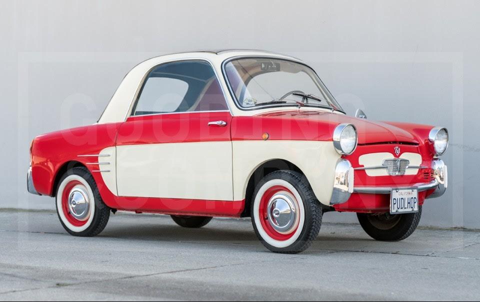 1961 Autobianchi Bianchina Trasformabile Special