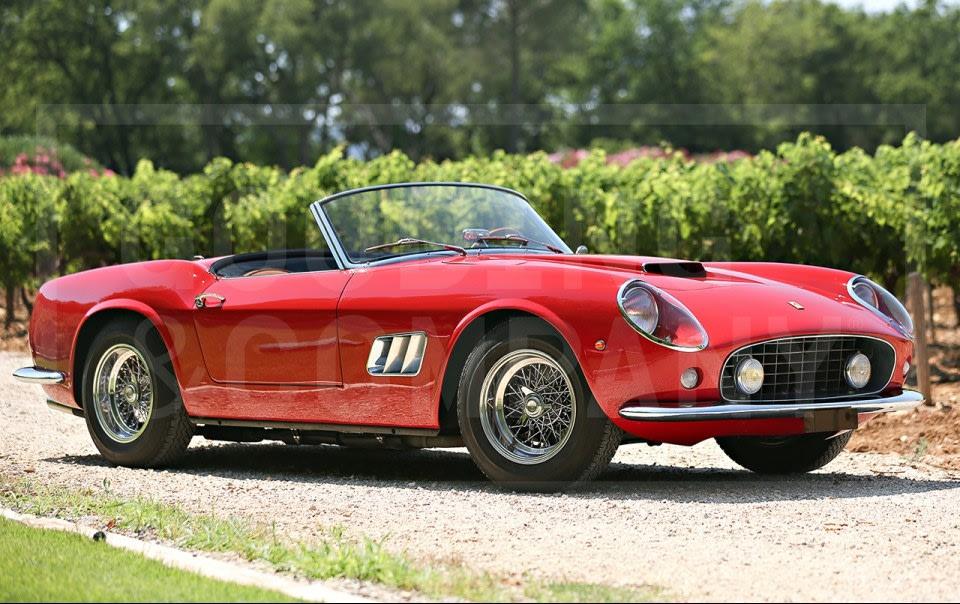 1961 Ferrari 250 GT SWB California Spider-2