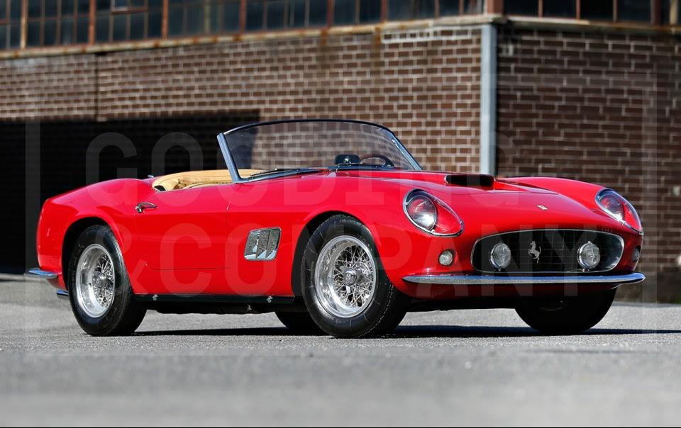 1961 Ferrari 250 GT SWB California Spider-3