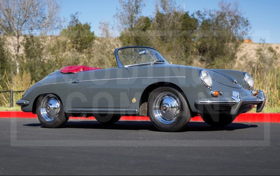 1961 Porsche 356 B Super Roadster