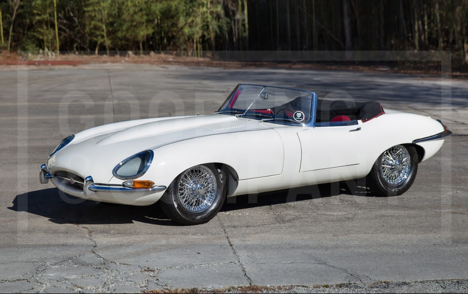 1962 Jaguar E-Type Series I 3.8-Litre Roadster-2