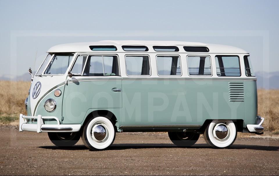 1962 Volkswagen Type 2 23-Window Bus