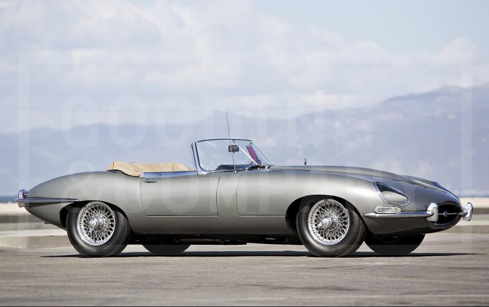 1963 Jaguar E-Type Series 1 3.8-Litre Roadster-3