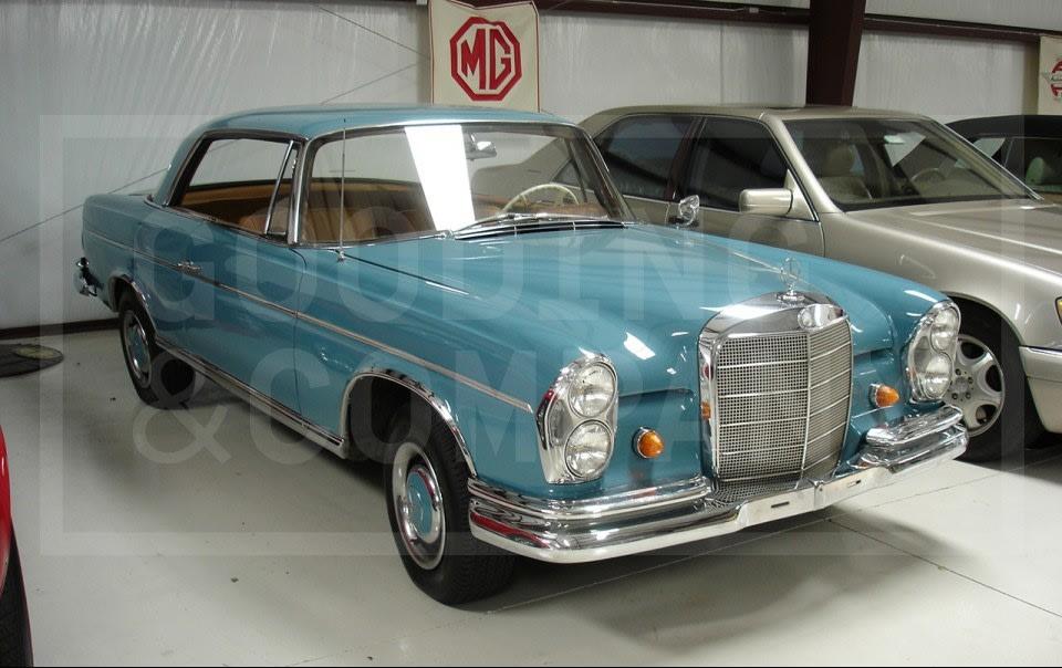 1963 Mercedes-Benz 300 SE Coupe