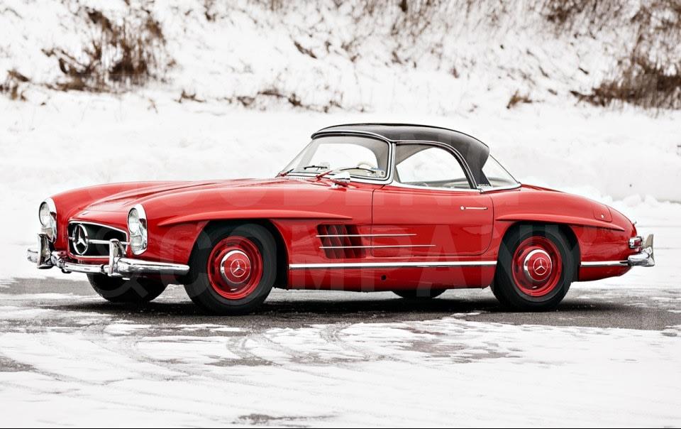1963 Mercedes-Benz 300 SL Roadster-4