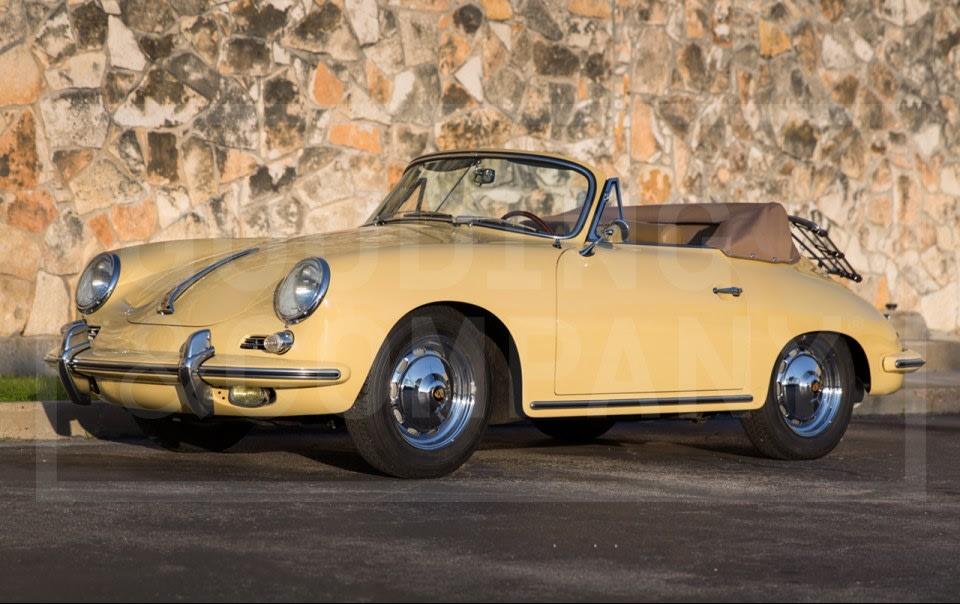 1963 Porsche 356 B Cabriolet-2