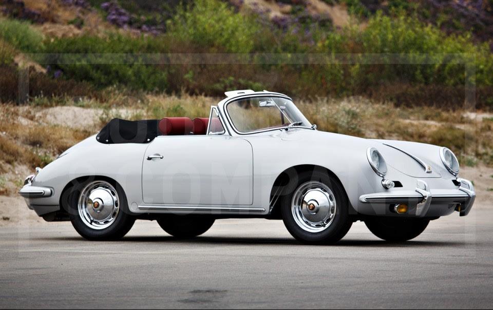 1963 Porsche 356 B Carrera 2 Cabriolet