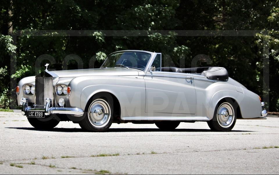 1963 Rolls-Royce Silver Cloud III Drophead Coupe