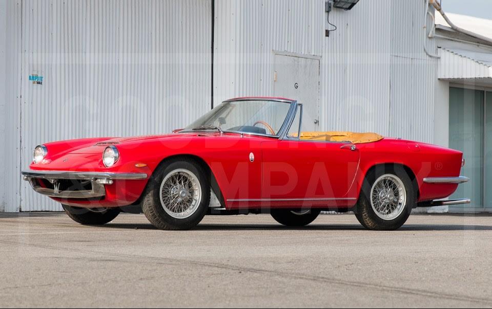 1964 Maserati Mistral 3.5 Spider