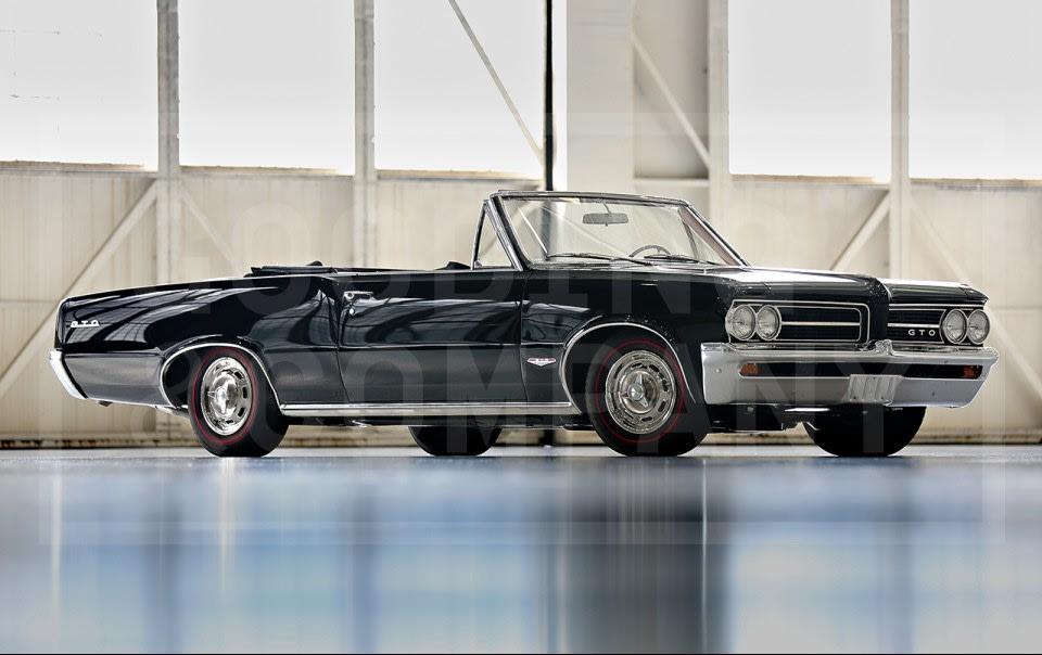 1964 Pontiac GTO Convertible-2