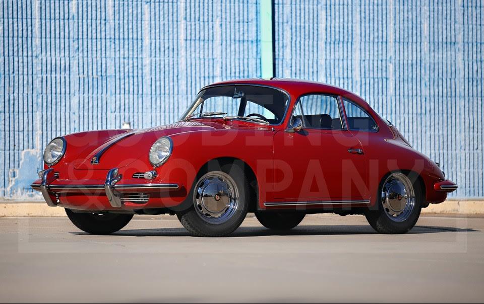 1964 Porsche 356 SC  Coupe