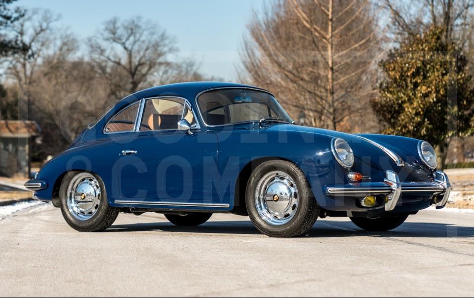 1964 Porsche 356 SC Coupe-5
