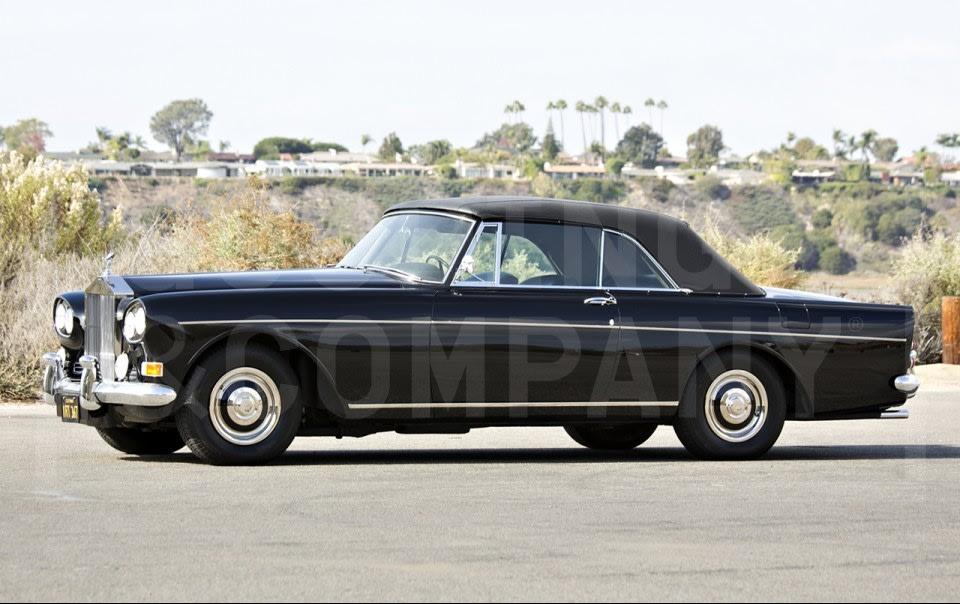 1966 Rolls-Royce Silver Cloud III Drophead Coupe