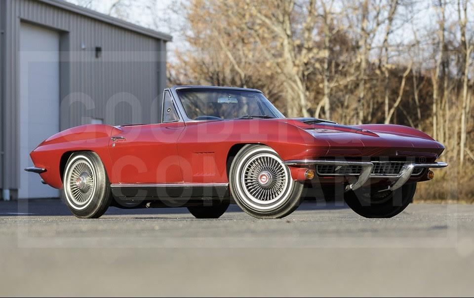 1967 Chevrolet Corvette 427/435 Roadster-3