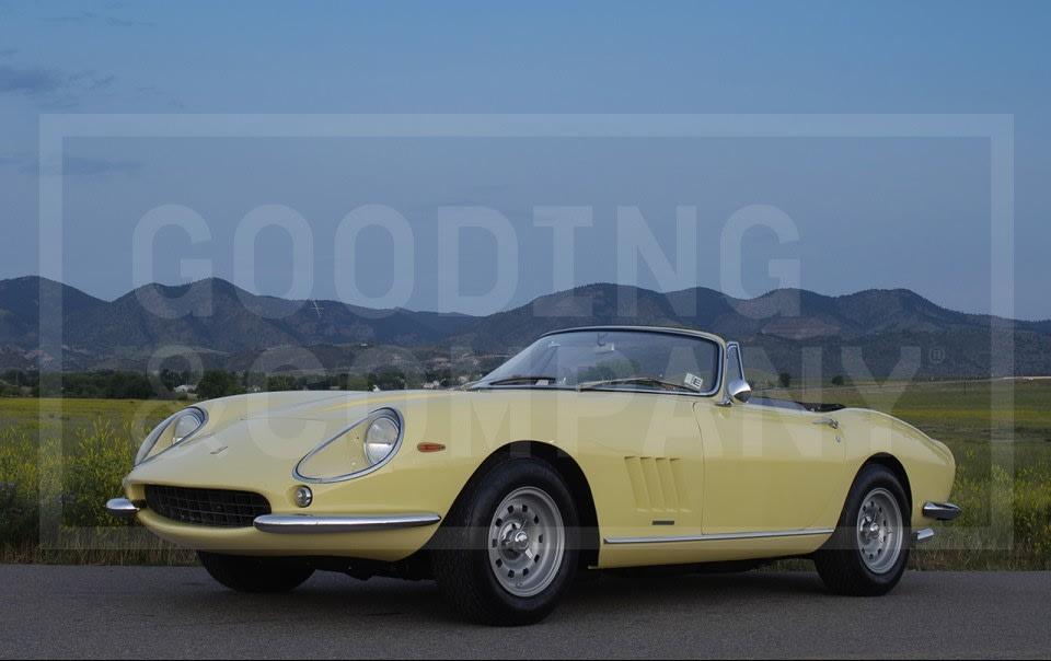 1967 Ferrari 275 GTS/4 Alloy NART Spyder