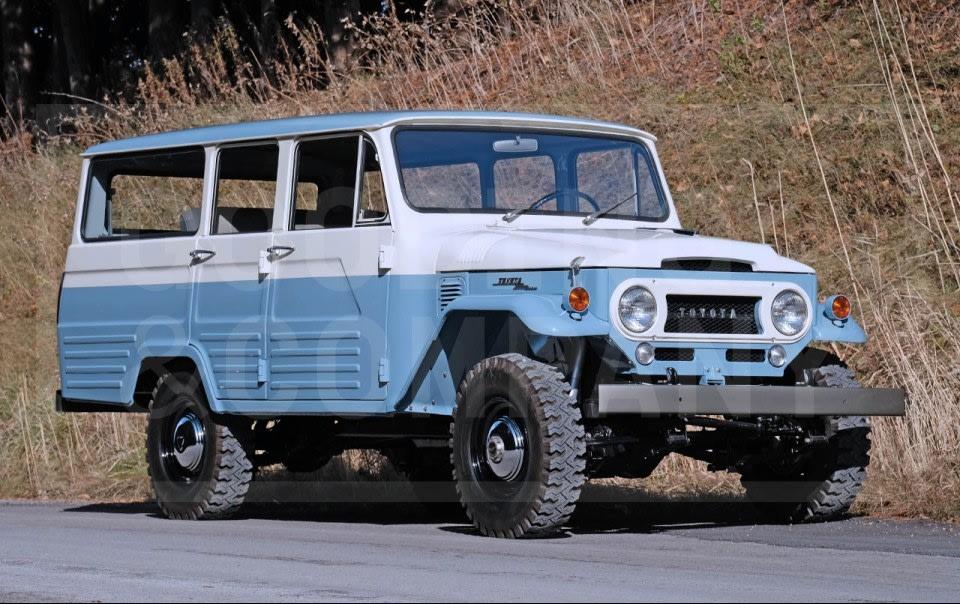 1967 Toyota FJ45LV Land Cruiser