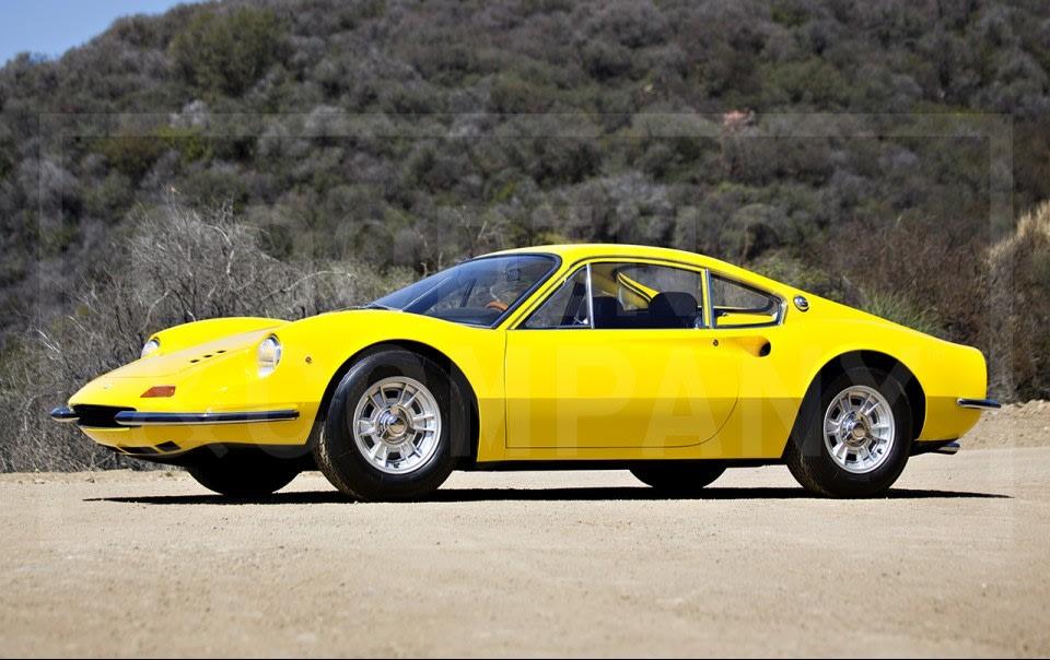 1968 Ferrari Dino 206 GT-2
