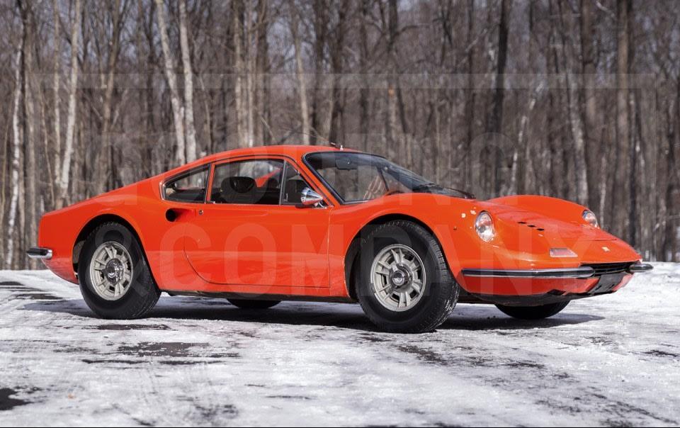 1968 Ferrari Dino 206 GT-6