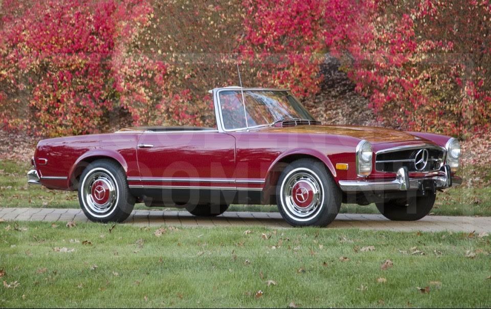 1968 Mercedes-Benz 280 SL-2