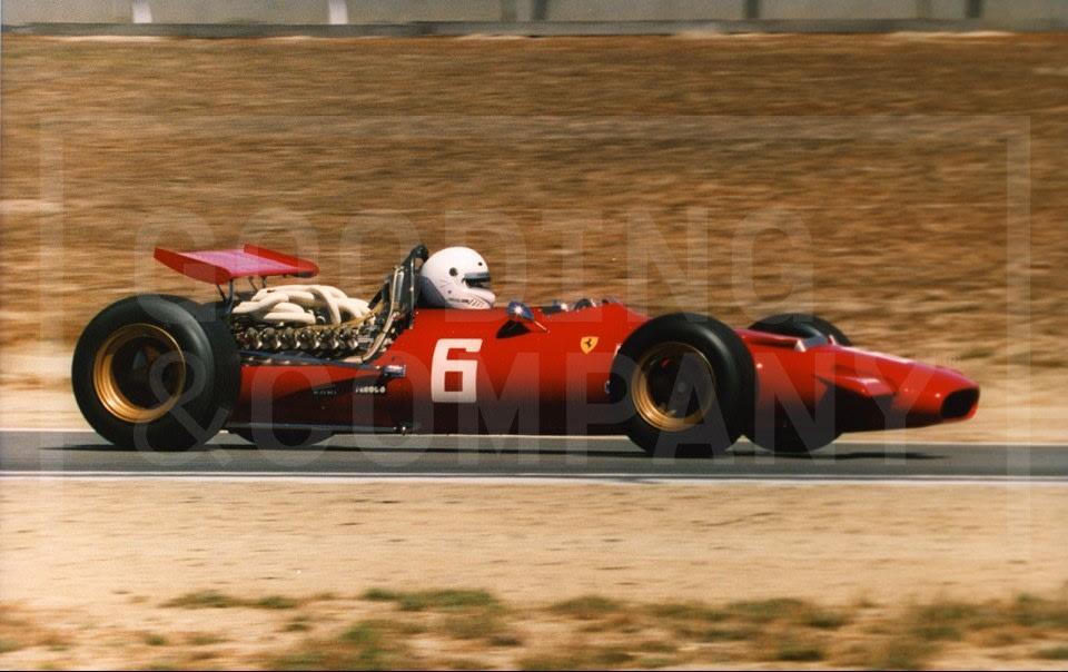 1969 Ferrari 312 Formula One Grand Prix Car
