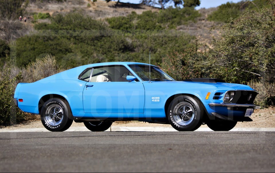 1970 Ford Mustang Boss 429(1)