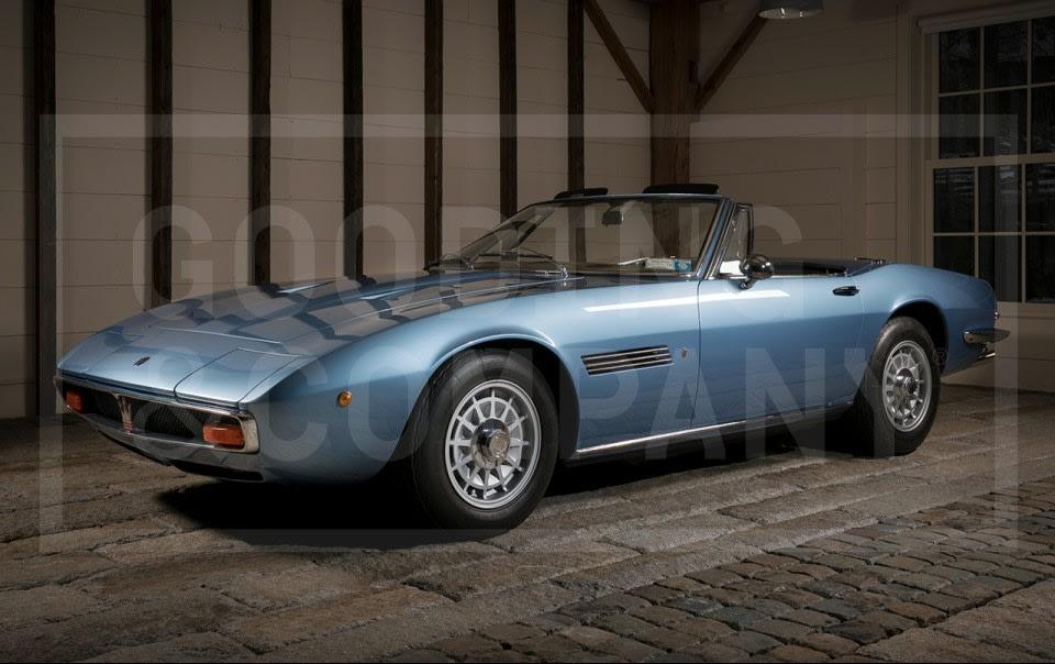 1970 Maserati Ghibli 4.7 Spider