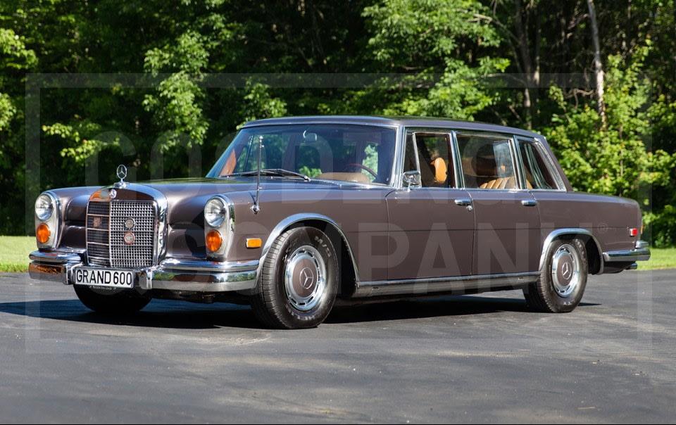 1970 Mercedes-Benz 600 SWB