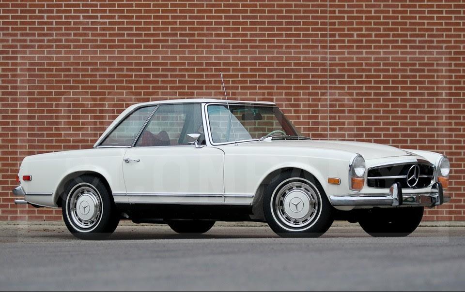 1971 Mercedes-Benz 280 SL-5