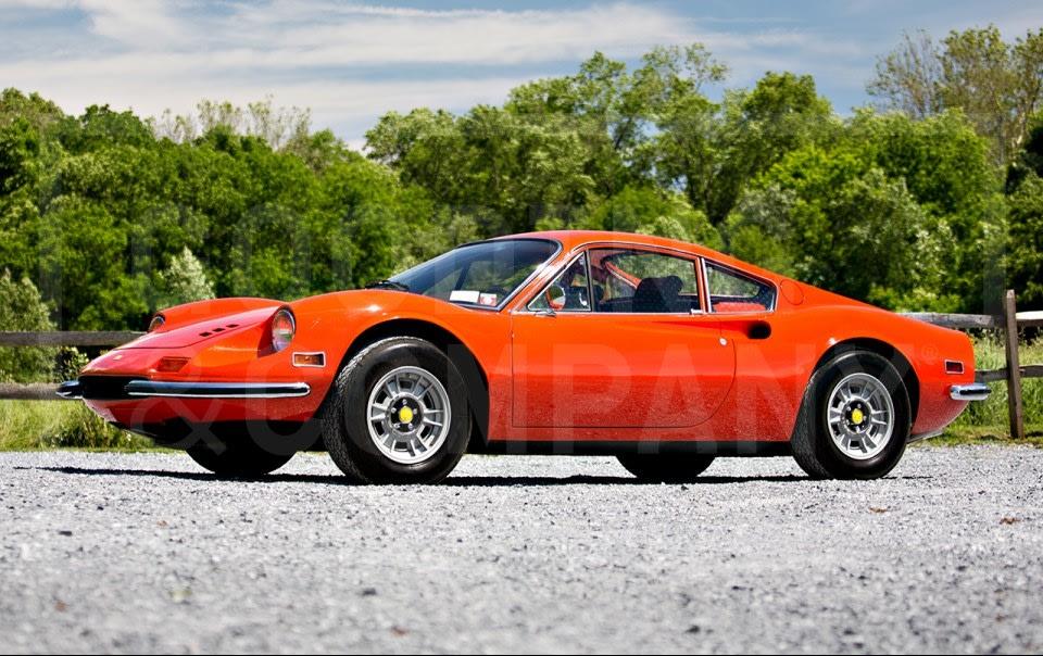 1972 Ferrari Dino 246 GT-5