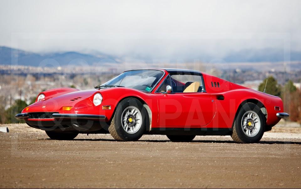 1973 Ferrari Dino 246 GTS-6