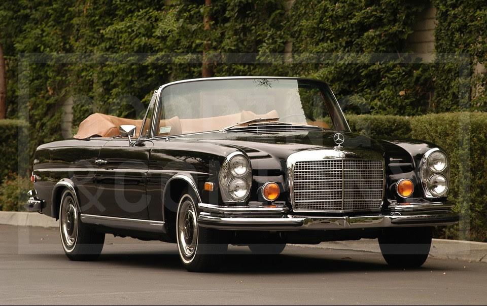 1973 Mercedes-Benz 280SE 3.5 Convertible