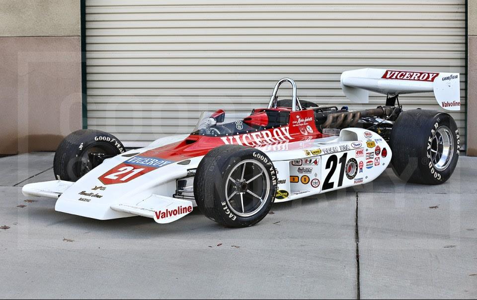 1974 AAR Gurney Eagle Indy Car