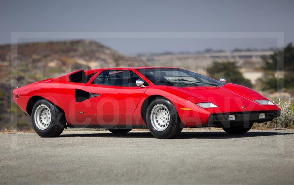 1974 Lamborghini Countach LP400 Periscopo