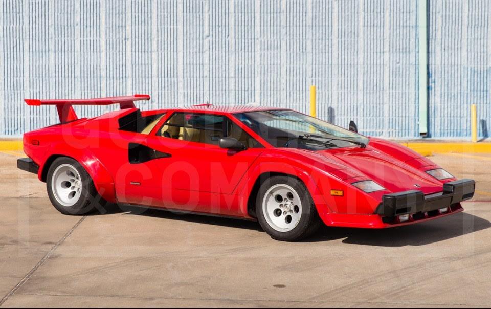 1987 Lamborghini Countach 5000 QV-4