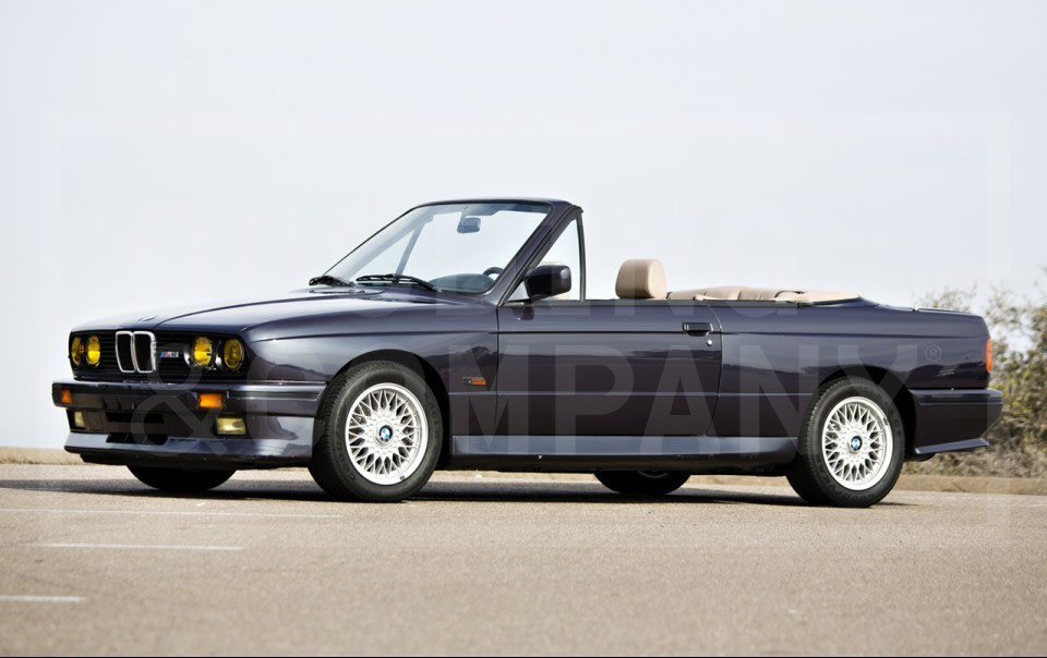 1989 BMW E30 M3 Convertible
