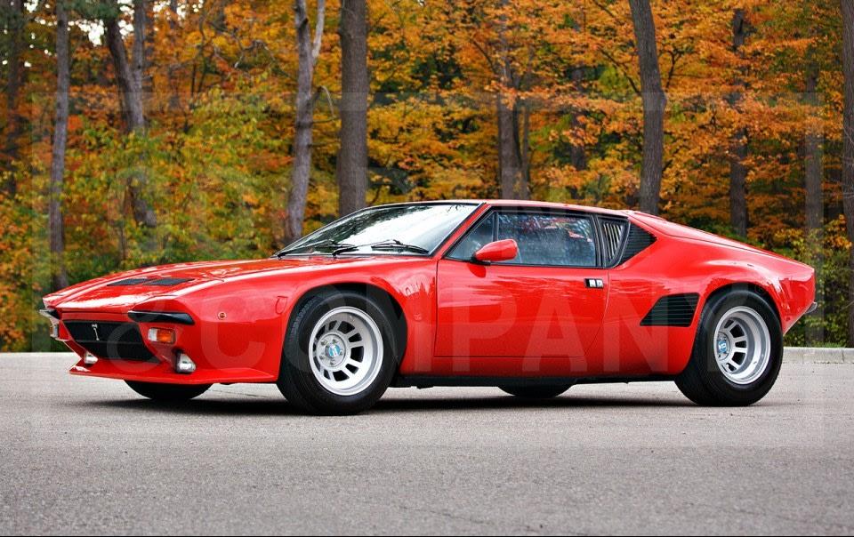 1989 De Tomaso Pantera GT5-S