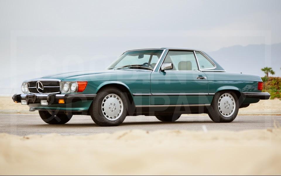 1989 Mercedes-Benz 560 SL(1)