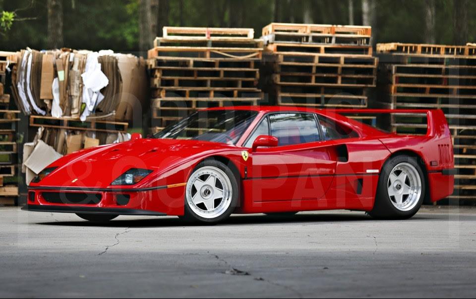 1990 Ferrari F40-4