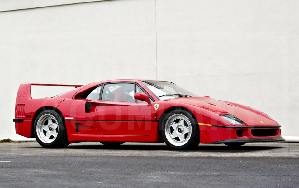 1991 Ferrari F40-3
