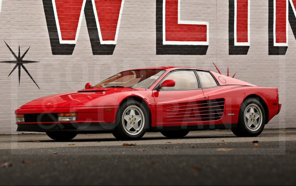 1991 Ferrari Testarossa-1