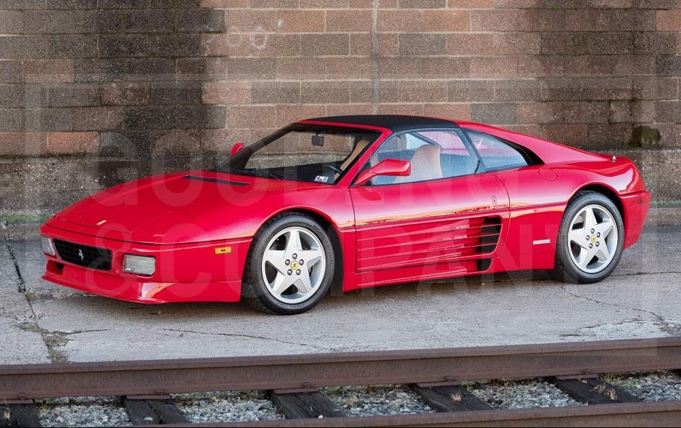 1993 Ferrari 348TS Serie Speciale