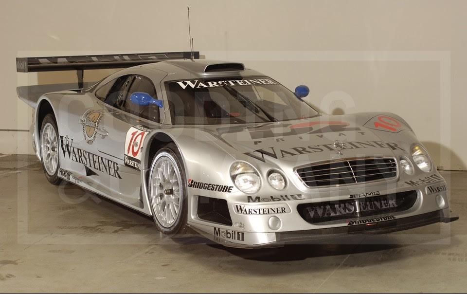 1997 Mercedes-Benz CLK-GTR Works Sports Racing Car