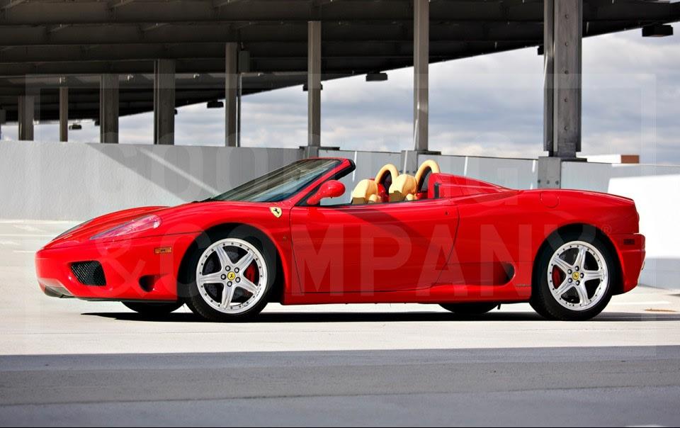 2004 Ferrari 360 Modena Spider (1)
