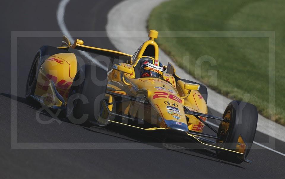 2012 Andretti Autosport® No. 28 DHL Honda Dallara DW12