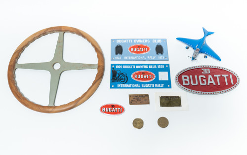 assorted-bugatti-related-items