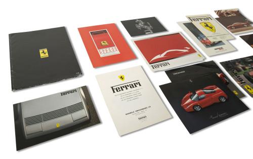 Ferrari Franchise and Independent Dealer Brochures, Including 288 GTO Press Color Photographs