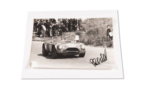 Assorted Photographs Signed by Phil Hill