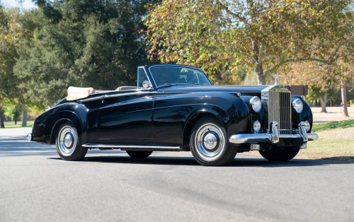 1961 Rolls-Royce Silver Cloud II Drophead Coupe